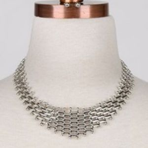Jewelry - Silver Link Chunky Necklace